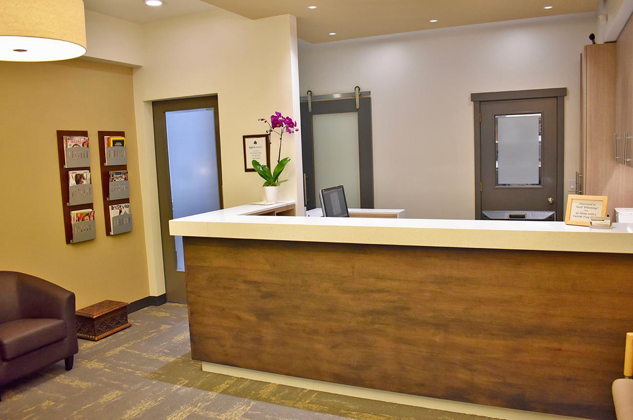 big sky northwest s project for hasegawa family dentistry in seattle wa